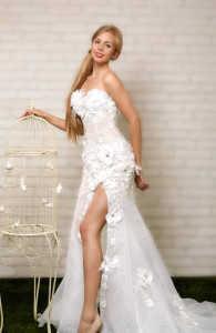 Красивое свадебное платье купить в СПб