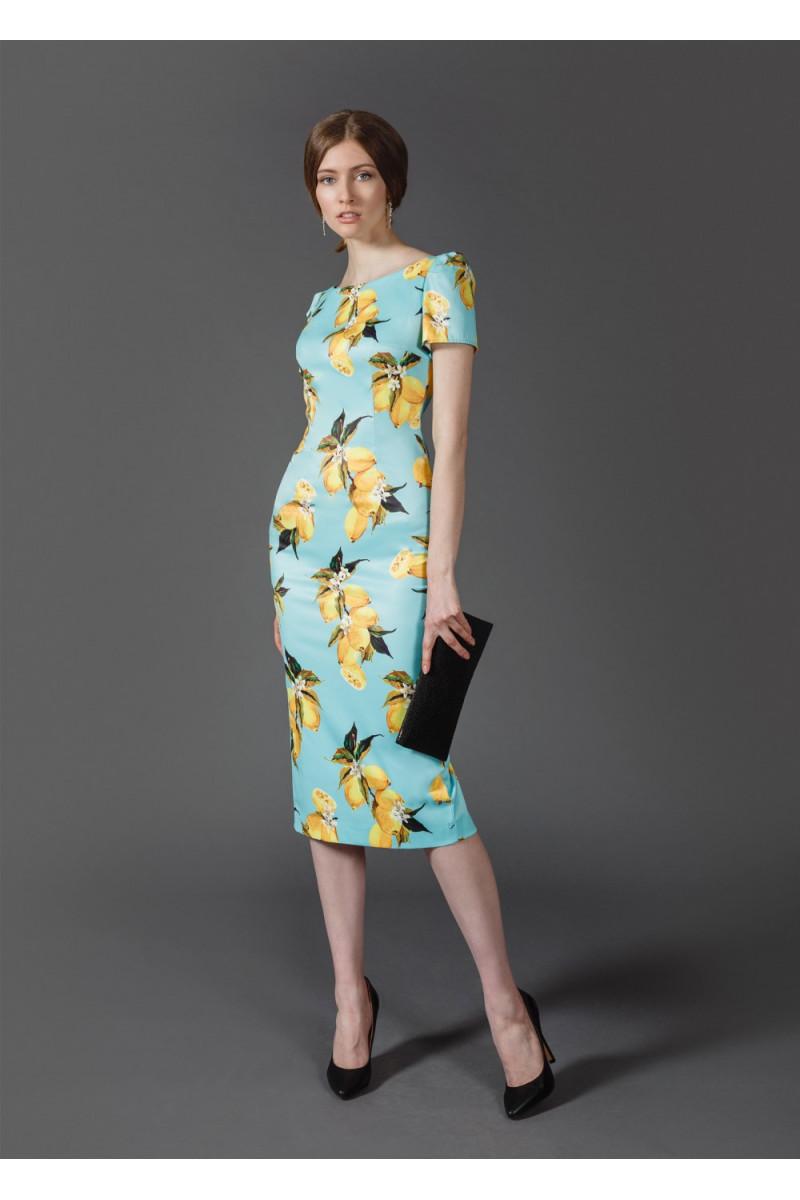 4971aed15c8 Купить голубое вечернее платье Модель №MR028B в СПб в интернет ...