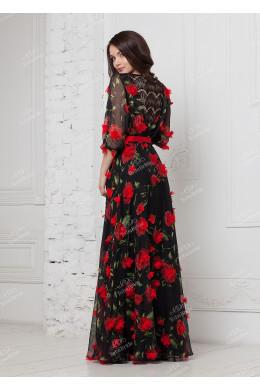 ND155B Вечернее платье_2