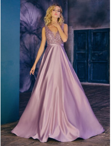 CH115B розовый цвет А-силуэт To be Bride