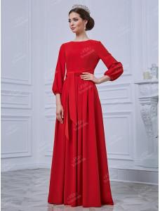 ND093B длинное красное To be Bride