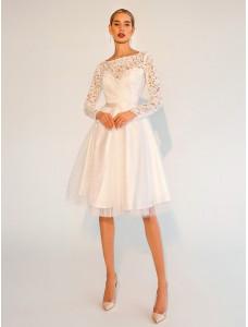 LAF010 белое короткое To Be Bride