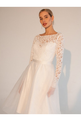 LAF010 белое короткое To Be Bride_2