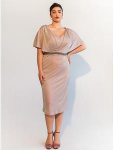 PMM203B короткое платье для пышных форм