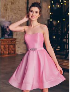 FA089B розовое короткое To Be Bride