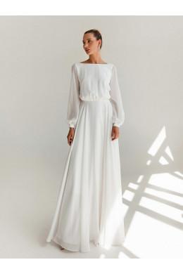 LAF001 белое из шифона To Be Bride_2