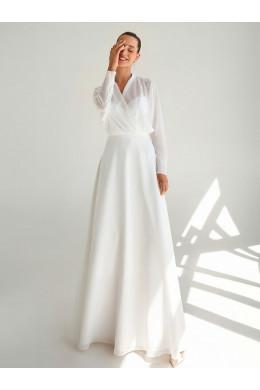 LAF018 белое шифоновое To Be Bride
