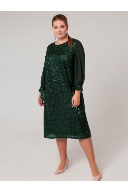 BAF023B зеленое с пайетками To Be Bride