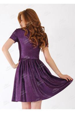 Модель №28 фиолетовое короткое с пайетками_2